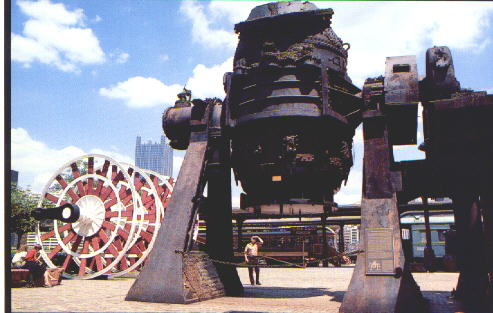 Bessemer Converter from a steel mill